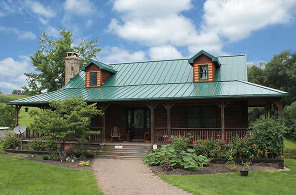 metal roofing for homes & houses